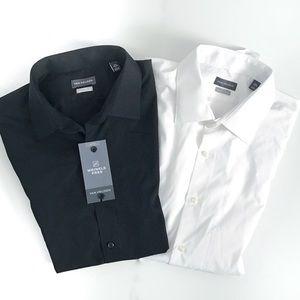 Van Heusen set of two dress shirts